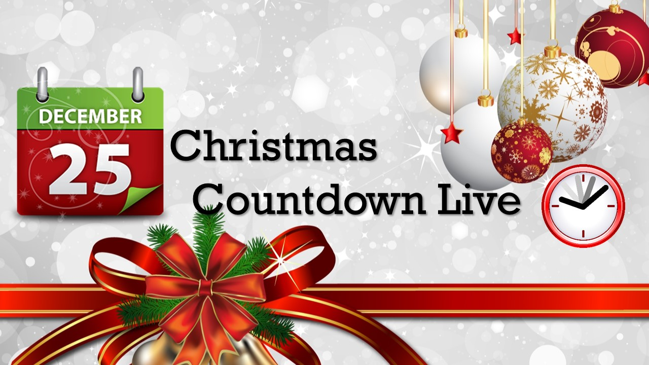 Christmas Count Down.Countdown To Christmas 2019 Days Until Christmas 2019